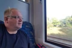 wieder im Zug