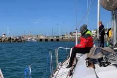 letzte Hafenanfahrt