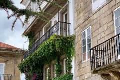 romantische Häuser und Gassen