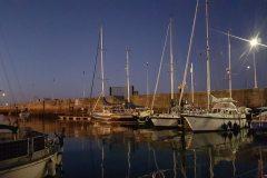 Nachts im Hafen
